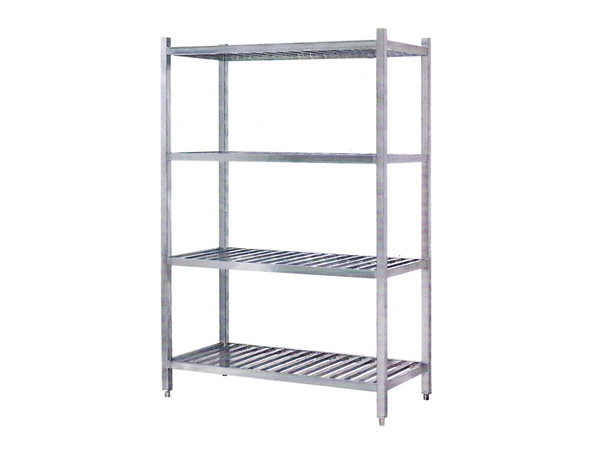 Four-storey rack