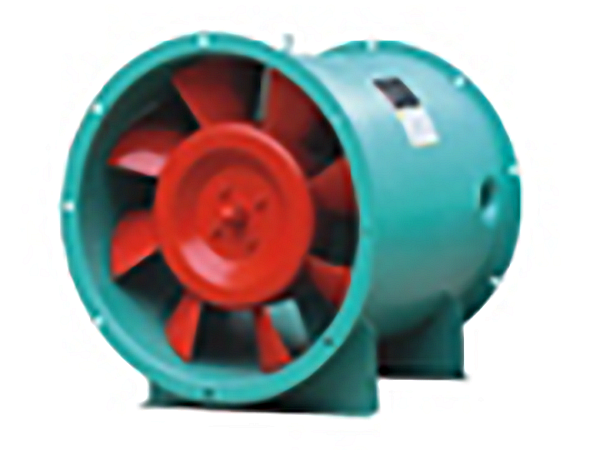 Axial Flow Fan for Fire Protection