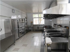 Factory kitchen equipment