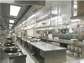 Tea Restaurant Kitchen Equipment
