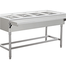 Four-compartment Thermal Preservation Sales Table
