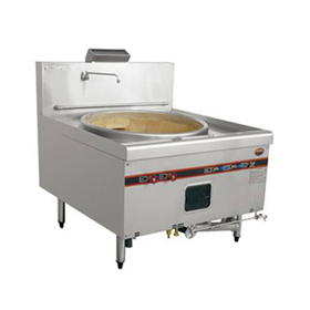 Single-end stir-frying stove