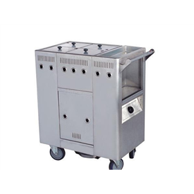 Kitchen equipment porridge car